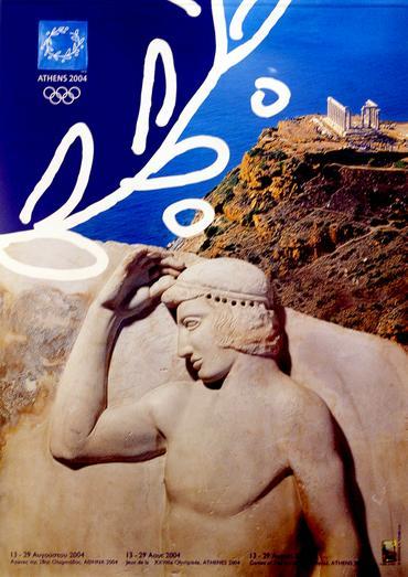 组图 百年奥运海报展举行 彰显世界体育文化