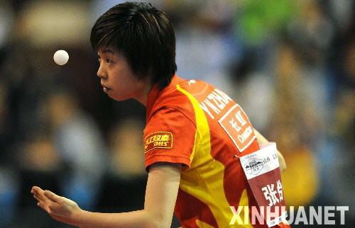 中国乒乓球超级明星热身赛在太原举行