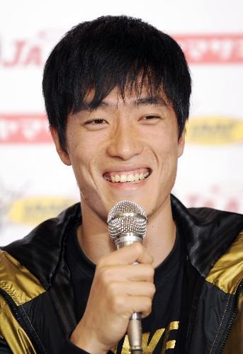 刘翔出席国际田联大阪大奖赛赛前新闻发布会