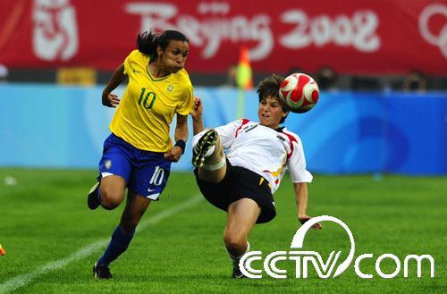 女足小组赛:德国战平巴西(组图)_cctv.com_上央