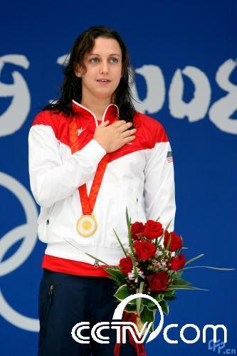 奥运女子200米蛙泳决赛:丽贝卡-索尼夺冠(组图
