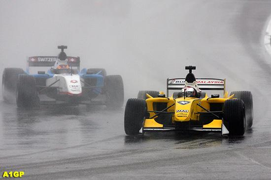 马来西亚 荷兰 搅局 夺得 大雨 冲刺 a1/法兹在比赛中