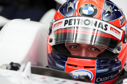 F1日本大奖赛末次练习赛 库比卡最快格洛克第二