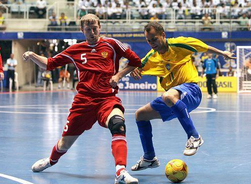 室内足球世界杯 巴西胜俄罗斯进入决赛