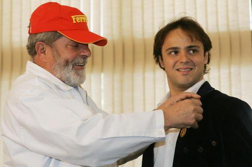 马萨回忆17岁那年 候选冠军客串披萨小子 图