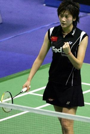 羽毛球资料库 羽毛球女子国家队队员朱琳