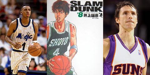 NBA版 灌篮高手 麦迪仙道转世 科比版流川