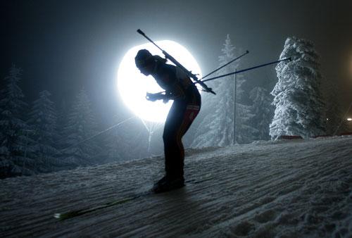 北欧两项世界杯女子4x6公里接力 德国披星戴月