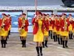 [组图]哈尔滨医科大学天使乐团在闭幕式前表演