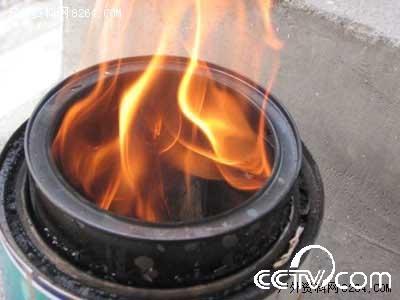 自制取暖炉子