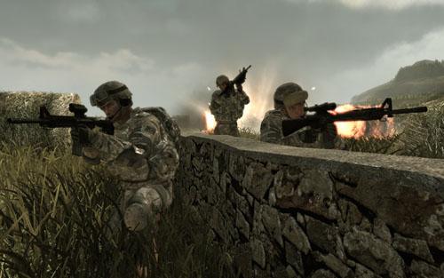 美国陆军游戏下载_[组图]《美国陆军3》游戏画面
