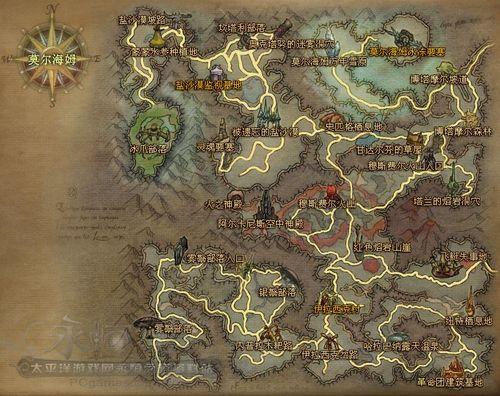 [永恒之塔]游戏地图大全之魔族中级区莫尔海姆