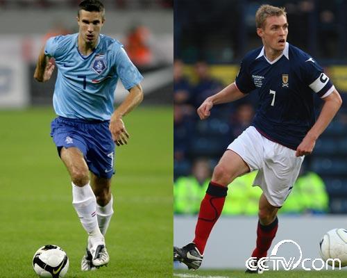 直播南非世界杯欧洲区预选赛:荷兰-苏格兰