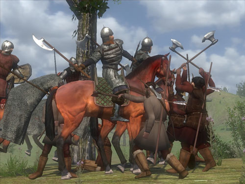 [组图]《骑马与砍杀:战斗连》游戏画面图片