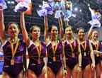 [组图]福建队获全国蹦床锦标赛女子团体冠军