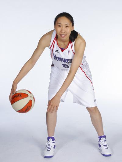 新赛季WNBA将揭幕 君主队放弃中国球员苗立杰