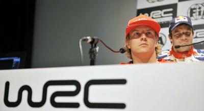 ...的比赛.  法拉利车队成全了莱库宁角逐拉力赛场的梦想,而WR