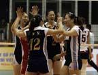 [组图]中国女排3-1胜韩国 决赛战泰国争冠军