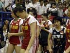 [组图]中国女排1-3不敌泰国 无缘问鼎亚锦赛