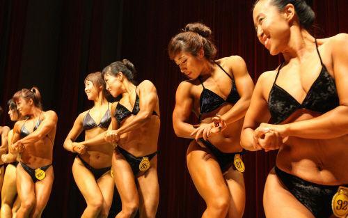 组图韩国举行健美世锦赛