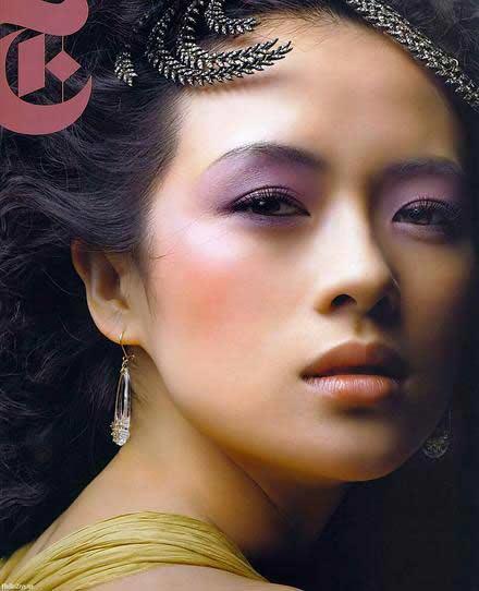 美女图片-章子怡_[组图]伏明霞入围中国60年12大美女 争艳章子怡