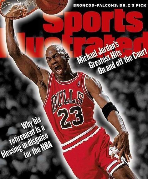 乔丹/美国著名运动杂志《体育画报》评选出了乔丹职业生涯最经典的23...