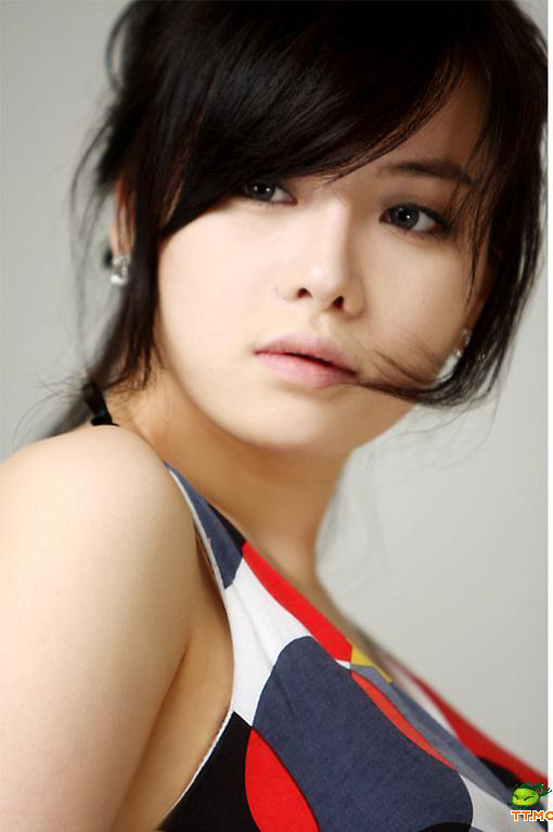 组图温柔小女人林智慧 韩国第一绝美车模 cc