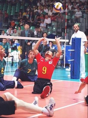 残奥会坐式排球竞赛规则要点