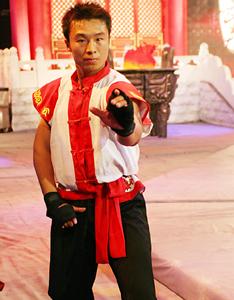 形意拳年度冠军:黄大鹏