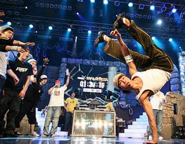 08全国街舞电视挑战赛
