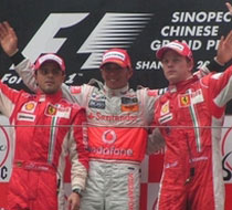 <br><center><strong>2008F1中国大奖赛</strong></center><br>