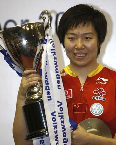 年度最佳女运动员奖候选人介绍 李晓霞
