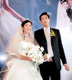 女排国手张娜完成结婚仪式