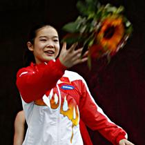 <center>程菲留憾北京奥运 伦敦要圆金牌梦</center>