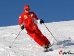 莱科宁热衷滑雪