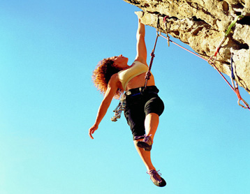 """攀岩被称为""""岩壁上的芭蕾"""""""