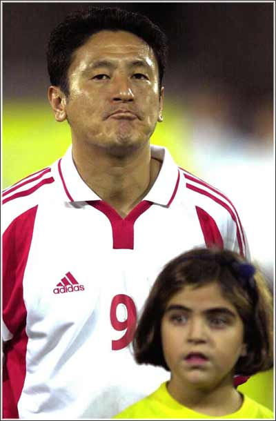 马明宇被评为中科比赛最佳球员